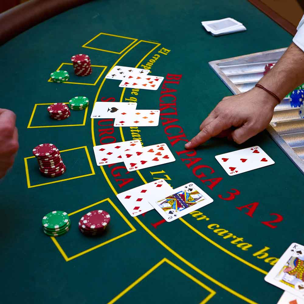 Blackjack Table Rental | Midwest Game Rental Services
